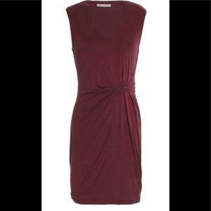 Annella Gathered Jersey Mini Dress
